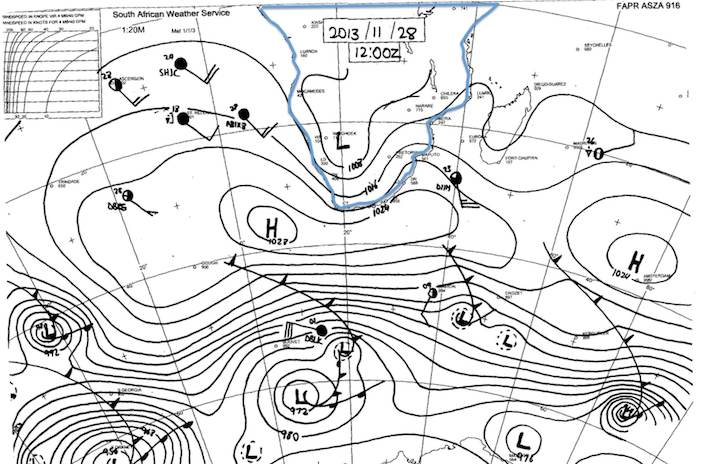 Synoptic Chart - SAWS - South Africa - 13.11.28 12h00Z.jpg