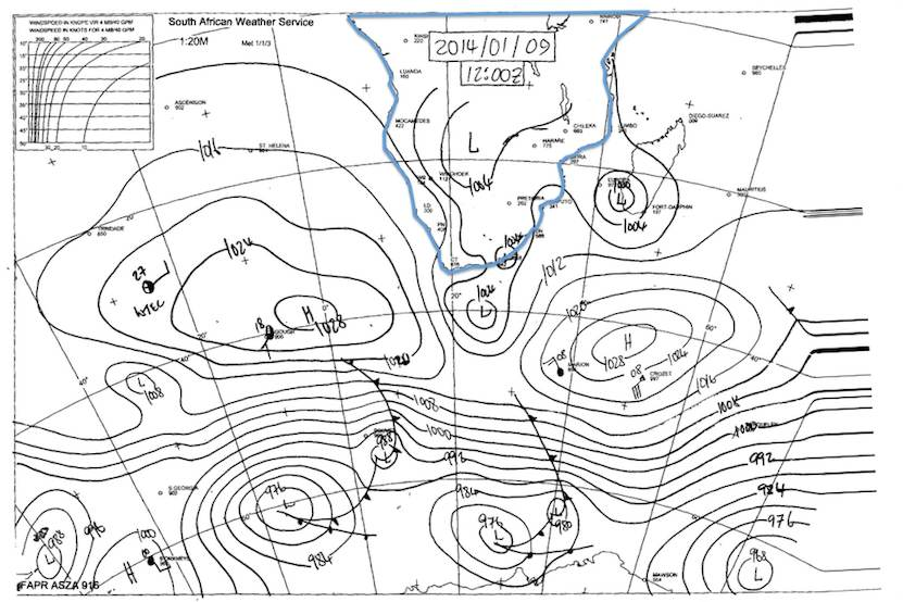 Synoptic Chart - SAWS - South Africa - 14.01.09 12h00Z.jpg